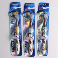 made products - Making you feel clean and cool functions plastic handle adult toothbrush with soft bristle new products