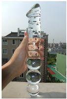 glass dildo - Diameter cm x29cm Super long Huge Crystal Glass Dildo Big Anal Plug female Masturbation long glass penis Gay sex Toys sexy shop