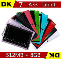 Wholesale Hot iRULU Q88 Inch Android4 A33 Tablet PC Dual Camera GB MB Capacitive Android Tablet PC