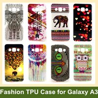 balloon animals flower - Tribe Animal Elephant Owl Flower Wind Chime Balloon Soft Cover Case for Samsung Galaxy A3 A300H A300X