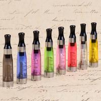 e cig wicks - CE4 Atomizer eGo Clearomizer ml vapor tank Electronic Cigarette for e cig battery colors wick CE4 CE5 via DHL