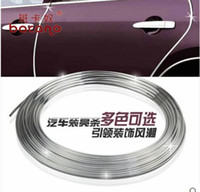 aircon air conditioner - 15 meters car Air conditioner outlet strip car aircon sticker For Jeep Grand Cherokee Commander SAHALA Dodge Journey Charger SXT