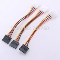 Wholesale 3 X Pin IDE to Serial Pin ATA SATA Power Adapter Cable GRS