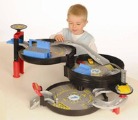 Wholesale The Original British TEAMSTERZ parking portable Large tyred Three layers of the parking car and park Toy