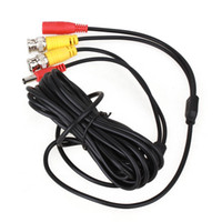 accessory power video cable - 20m Meters feet Black CCTV Security Camera Accessories BNC DC Video Power Cable Wire Lead for Surveillance DVR Kit Monitor System Install