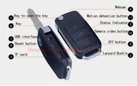 mini key chain - HOT SALE Mini spy car keys Camcorder HD car key chain Camera Hidden Motion Detect SPY Video Recorder camera DVR Support Video