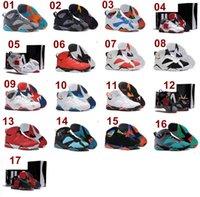 Wholesale Top Quality Men s air retro Athletic Basketball Shoes j7 Cheap shoesize us