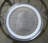 antique hair art - HOT SELLING PC Flowing Hair Silver One Dollars FOR COLLECTION ONLY