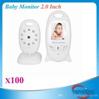 Wholesale Wireless Baby Monitor Security Camera Way Talk Nigh Vision IR LED Temperature Monitoring with Lullabies ZY SX
