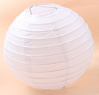 Ballon and Lantern decoration - 9colors MIC Fashion White Chinese Paper Lantern Wedding Party Home Decorations cm
