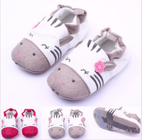 Wholesale Red gray baby shoes cartoon toddler shoes Soft bottom walker shoes children single shoes newborn shoes kids shoes pairs ZH