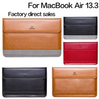 Wholesale Dropshipping LENTION Genuine Leather Sleeve Bag Case for Inch MacBook Air More colors avaliable
