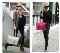 Wholesale 2014 Fashion handbags women leather handbag Famous Designers Brand shoulder totels Women Bags color