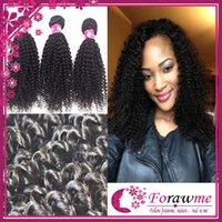 Cheap Natural Color Black kinky curly virgin hair Best 100g kinky curly human hair