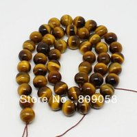 semi precious stone beads - mm Round Tiger Eye Natural Semi precious stones Beads Loose Beads Fit For Bracelet DIY