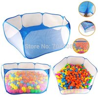 Wholesale FD1771 Children Kids Portable Pit Ball Pool Outdoor Indoor Baby Tent Playhut