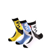 Wholesale Men s cotton sport sock bike riding socks Soccer sports sock outdoor skiing fishing running socks fashion sport soft socks D337M