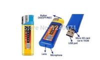 Définition des caméras vidéo Avis-720 * 480 mini caméra cachée plus légère caméra cachée haute définition caméra espion cam vidéo portable outil d'enregistrement photo bleu / jaune