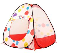 Wholesale Hot Polyester Material Tent Folding Indoor Outdoor Toy Play Tent for Kids Multi Function Tents cm