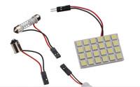 acura door - 10set SMD LED Car Panel Light Interior Room Dome Door White Bulb Adapter DC V Lamp