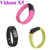 Cheap Vidonn X5 Bluetooth 4.0 IP67 Smart Wristband Bracelet Sports Fitness & Sleep Tracker for iPhone 4S 5 5S 5C Samsung S4