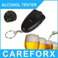 alcohol products - Patented product High Accurate Breath Alcohol Tester Breathalyzer Flashlight Freeshipping dropshipping