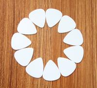 Wholesale 10PCS mm high quality guitar picks white DIY
