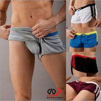Wholesale Men s Underwear Underpants Sports Household briefs Sexy Boxer Shorts Mens Active Boxer Colors Good Elasticity Hot Sales