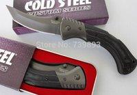 stainless steel pocket knives - 57 HRC Fine imitation Cold Steel BS Black Sable Top Quality Folding Pocket Knives Camping Hunting Safe Knife