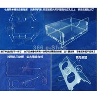 acrylic parrot cages - Clear Acrylic Pet Parrot Bird Automatic Cage Feeder Size Small Double Hopper