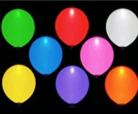 Wholesale Freeshippig Led Flash Balloon Christmas gift Wedding Birthday and Party Decoration Color light up balloons K0025