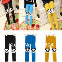 Wholesale Casual Girls skinny pants Cute Kids Toddlers Panda Leggings Size Years