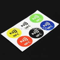 Wholesale Hot Sale x Waterproof NFC Smart Tags Sticker Chip Rfid Adhesive Label for MX3 for SamsungS4 for Lumia