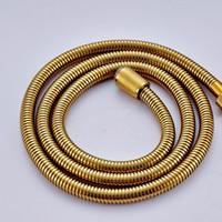 Wholesale Golden Stainless Steel mm Shower Hand Shower Hose G1 quot Shower Hose Pipe