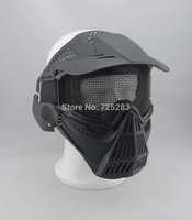 bb gun hunting - Skull Airsoft Paintball BB GUN Hunting War Game Protect PROTECTION guard mask