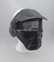 airsoft guns protection - Skull Airsoft Paintball BB GUN Hunting War Game Protect PROTECTION guard mask