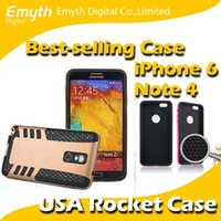 apple rocket - USA Rocket in Hybrid Rugged Case Cover solf TPU PC Cover For Iphone S plus Samsung Galaxy S5 Note factory price