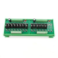 Cheap DC 24V 14 Channel Relay Module Transistor PLC Power Output Amplifier Board