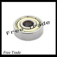 Wholesale 10PCS ABEC Deep groove ball bearing ZZ X22X7 mm bearing steel ZZ skating bearing A3