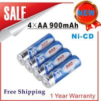 Wholesale AA900mAh Ni CD Rechargeable Battery Solar Light Garden Light Battery Digital Camera Battery R C Toys Battery