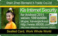 Wholesale Genuine Kis Internet Security or Kis for Multi Device Card Full New Unused Unactived year days or year days