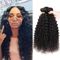 Wholesale Kinky Curly Hair Malaysian Remy Human Hair A Hot Sale quot quot Kinky Curly Virgin Bundles Unprocessed Virgin Malaysian Curly Hair
