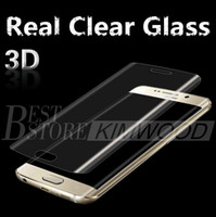 anti clear - Real Clear Tempered Glass Note S7 Edge S7 S6 Edge S6 Edge Plus Full Cover D Curved Side Screen Protector MM