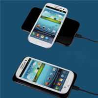 battery charger charging station - QI Wireless Charger for mobile phone Charging Station PAD Transmitter Chargers MC A Battery Power Supply for iPhone S Note5 Free DHL