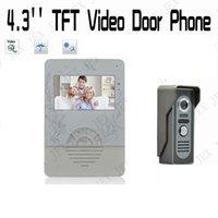 Wholesale 4 inch Home portable doorbell rain cover video door phone IR camera doorphone camera