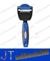 clipper blades - Pet Fur Deshedding tool Pet Brush Grooming Comb Rake Dog Cat Pet Grooming Tool Dog Brush Pet Shedding Grooming Tool Brush MYY12533A