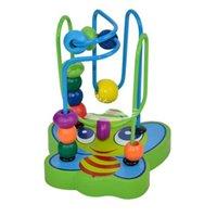 Precio de Juguete educativo de abeja-Nueva niños de los niños de la abeja para la Educación Forma de madera animal del juguete de los alrededores de colorido juguete creativo del envío libre