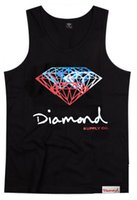 Wholesale Summer new arrival special hip hop diamond fashion young men s tank tops handsome for men