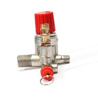 air regulator valve - Hot Sale Durable Quality Air Compressor Double Outlet Tube Pressure Regulator Valve Fitting Parts