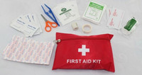 Wholesale First Aid Kit For Outdoor Travel Sports Emergency Survival Indoor Or Car Treatment Pack Bag L168 high quality